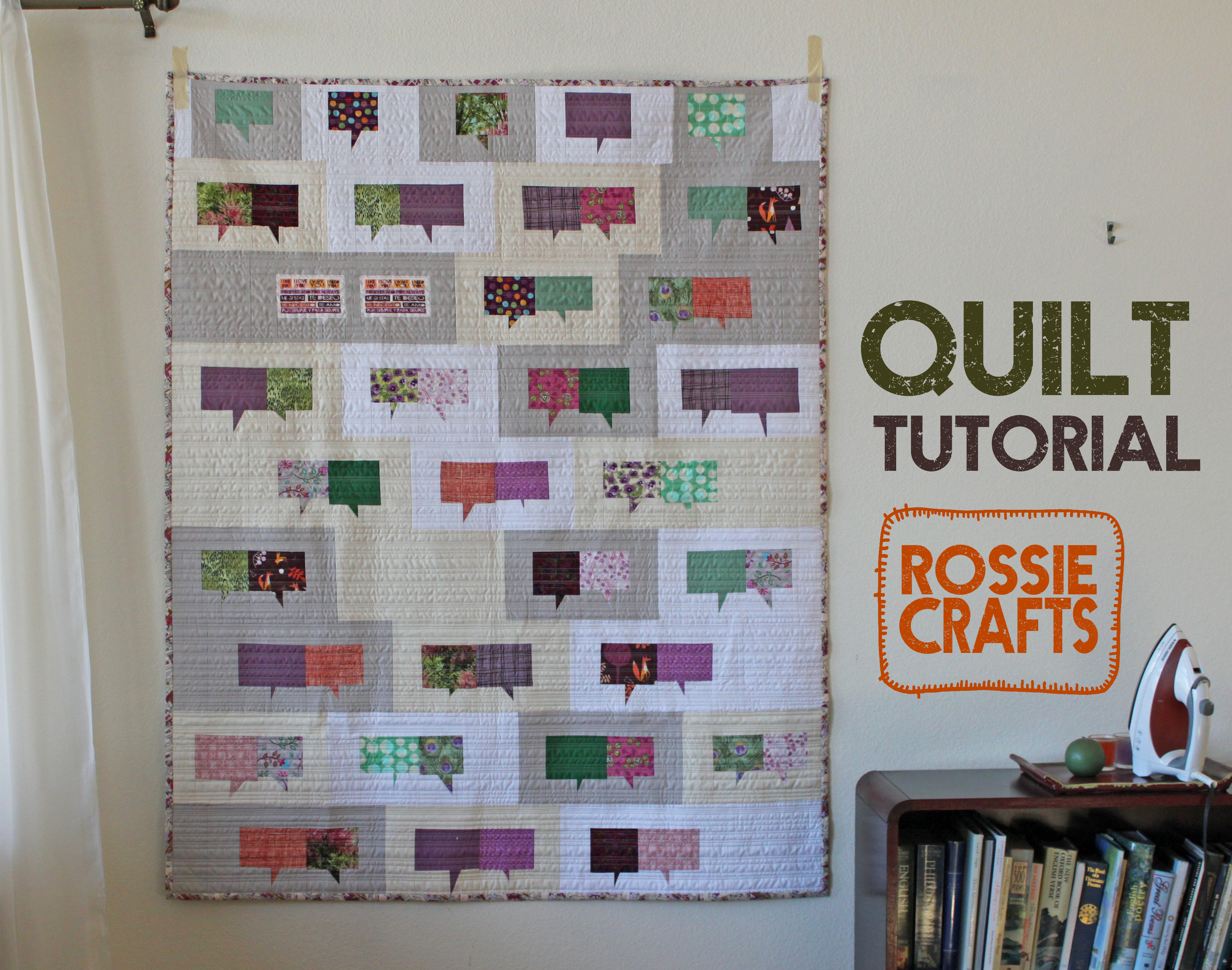 The Conversation Quilt (with Tutorial!)
