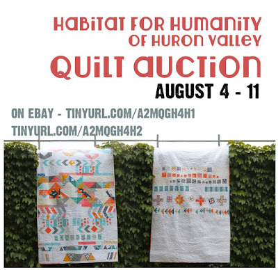 Charity Quilts Up For Auction! Closes August 11th!
