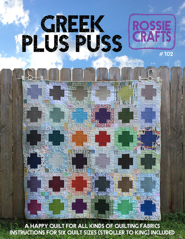 Greek Plus Puss Quilt