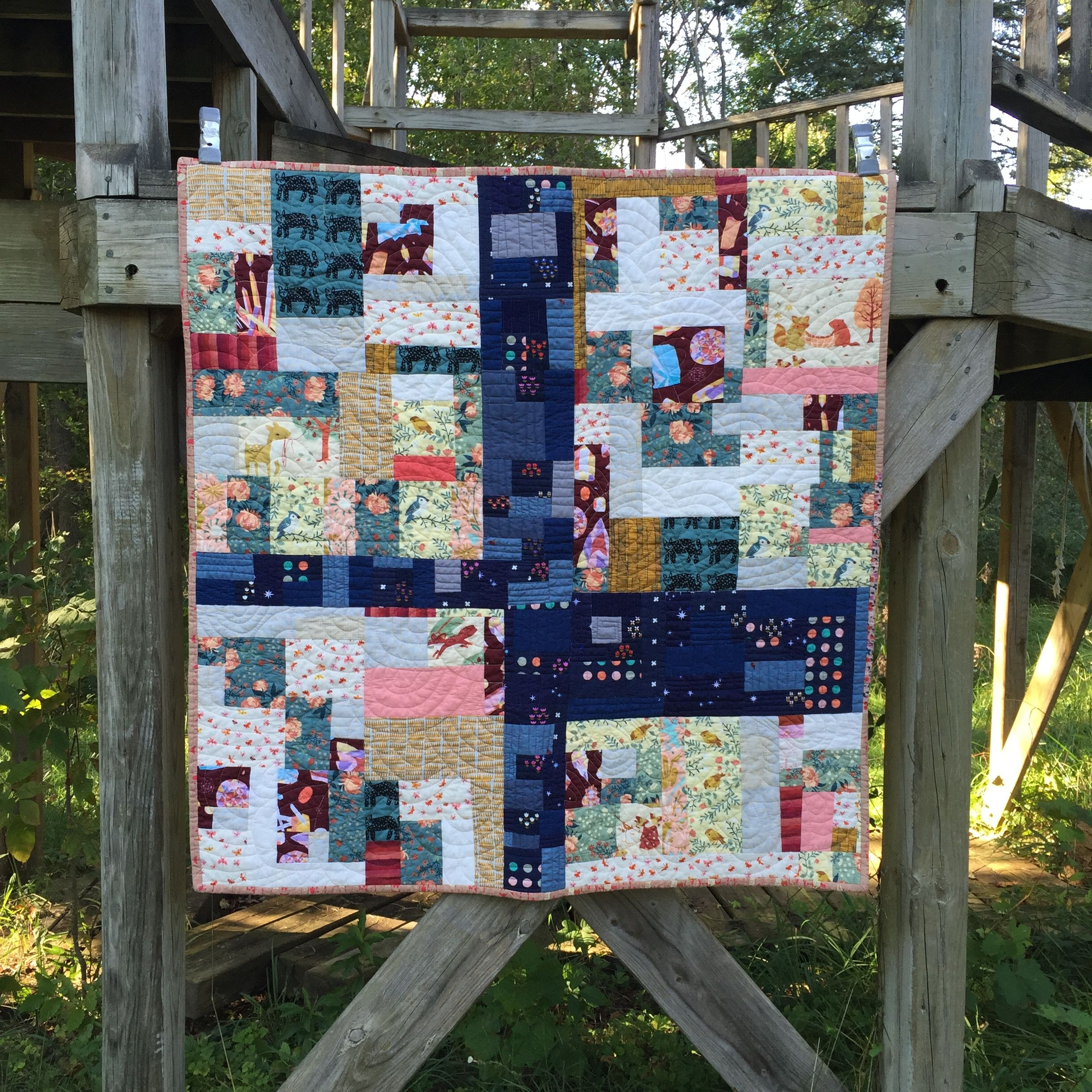 From Fabric Stack To Finished Quilt